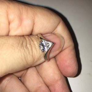 "💍"" VINTAGE "" PEAR SHAPE ENGAGEMENT RING💍"